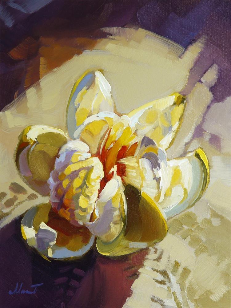 """sweet pomelo"" original fine art by Beata Musial-Tomaszewska"