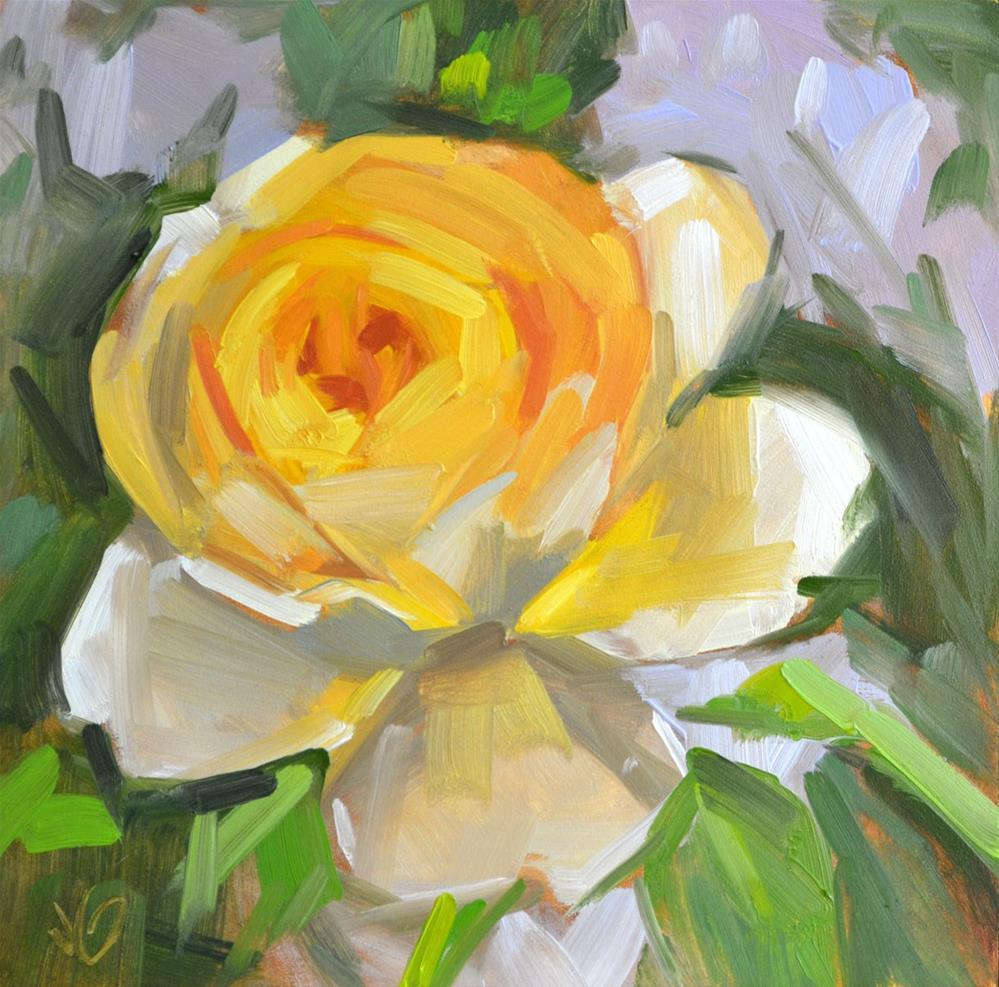 """""""Rosie"""" original fine art by Jessica Green"""