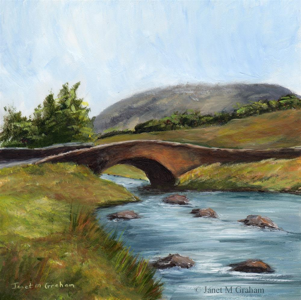"""Down by the River"" original fine art by Janet Graham"