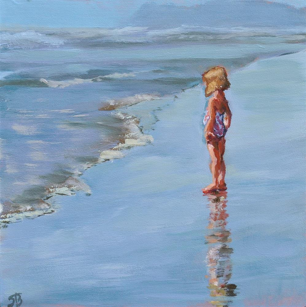 """Seashore Observer"" original fine art by Shari Buelt"