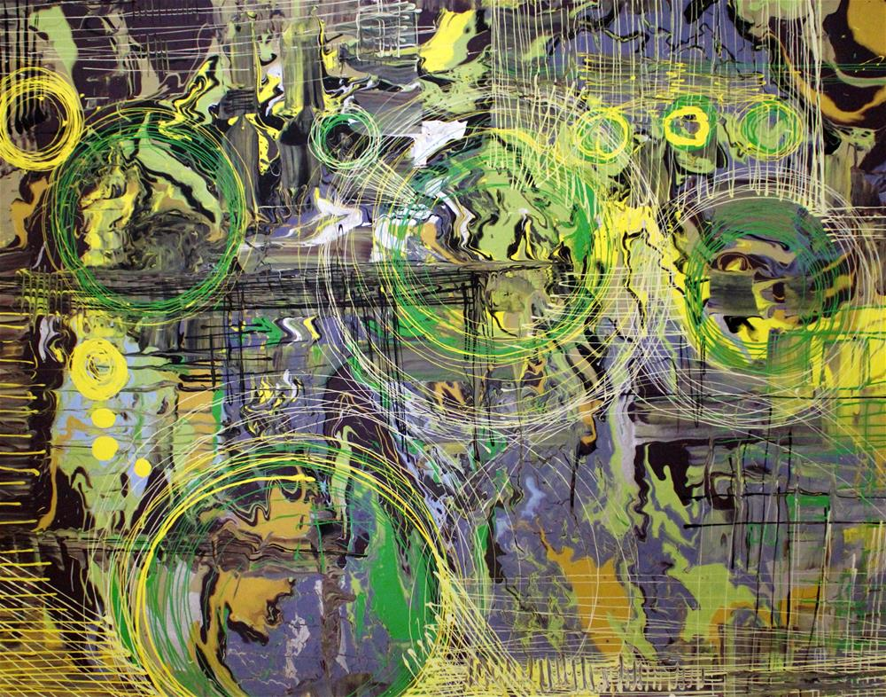 """Earth Zoom"" original fine art by Khrystyna Kozyuk"