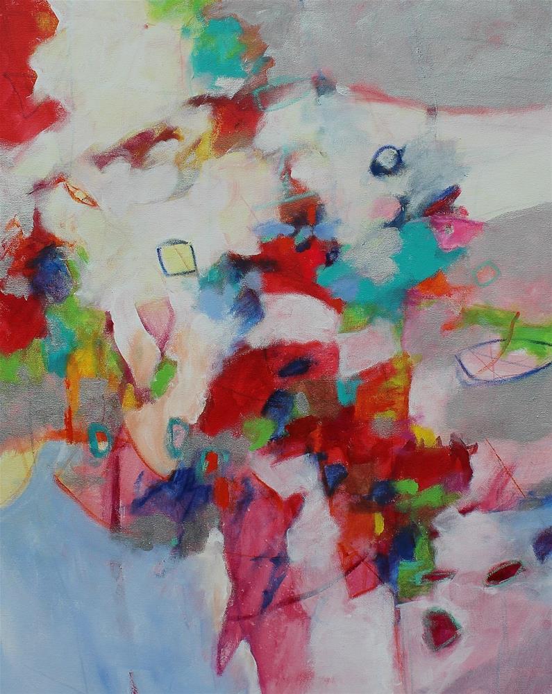 """Cherry Fizz Candy "" original fine art by Kerri Blackman"