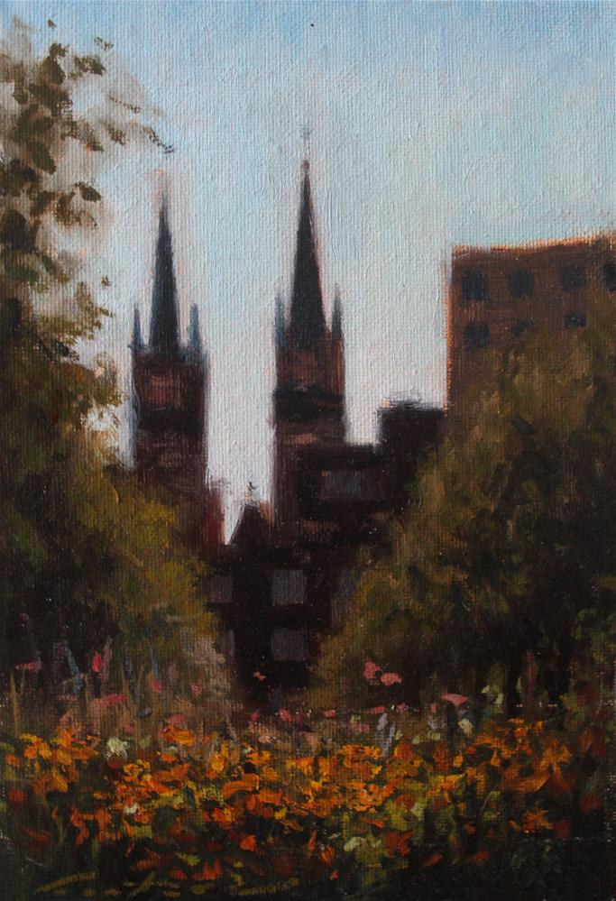 """Antwerp, Belgium"" original fine art by Phil Couture"