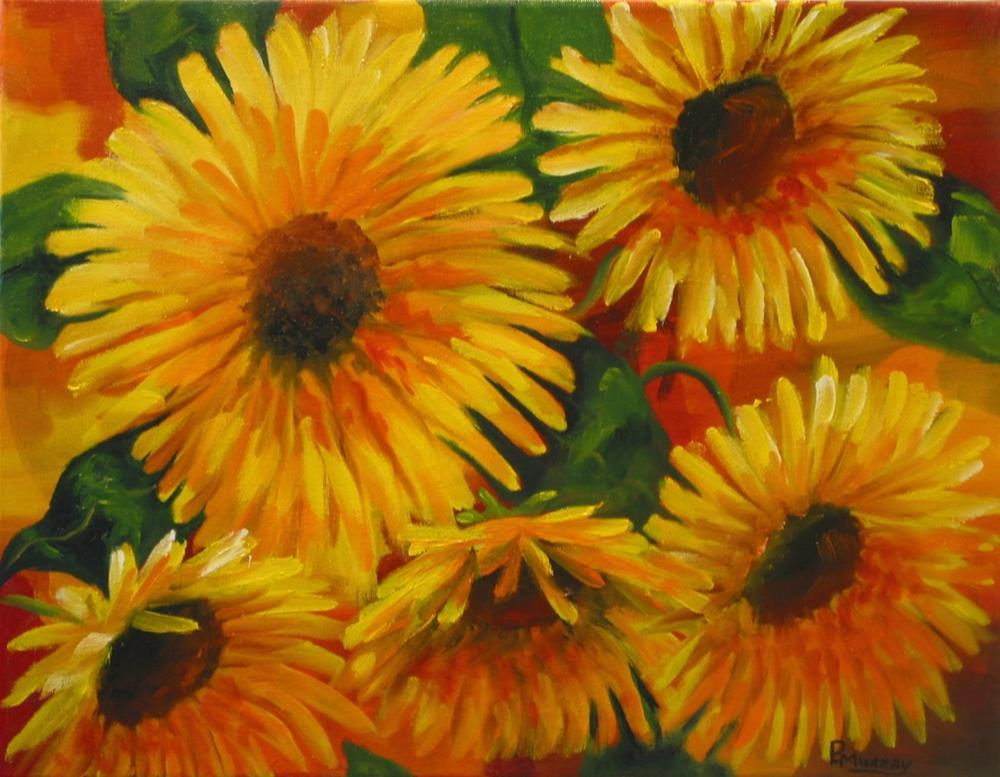 """""""Spring Fever"""" original fine art by Patricia Murray"""