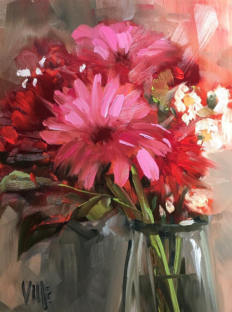 """#274 Sweetheart Season"" original fine art by Patty Voje"
