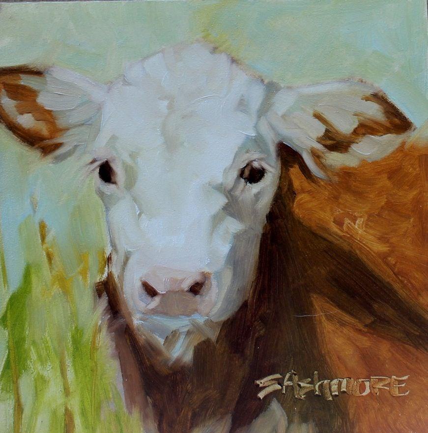 """''When I grow up''"" original fine art by Susan Ashmore"