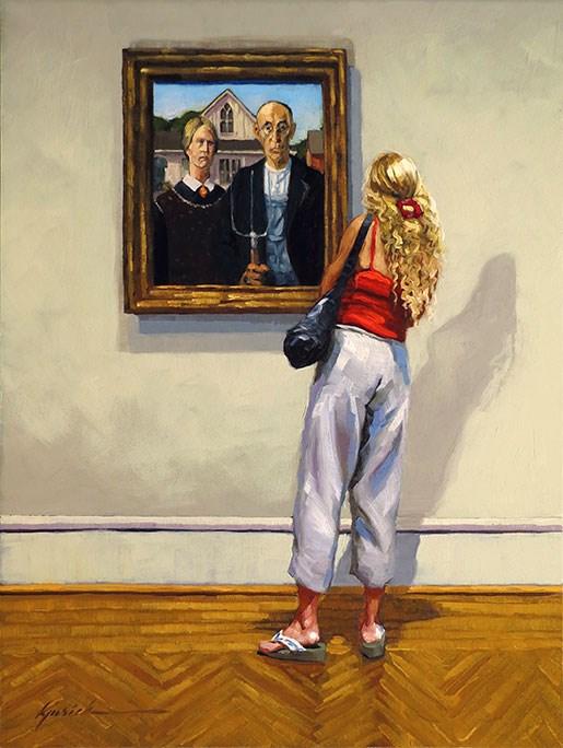 """A Casual Look"" original fine art by Karin Jurick"