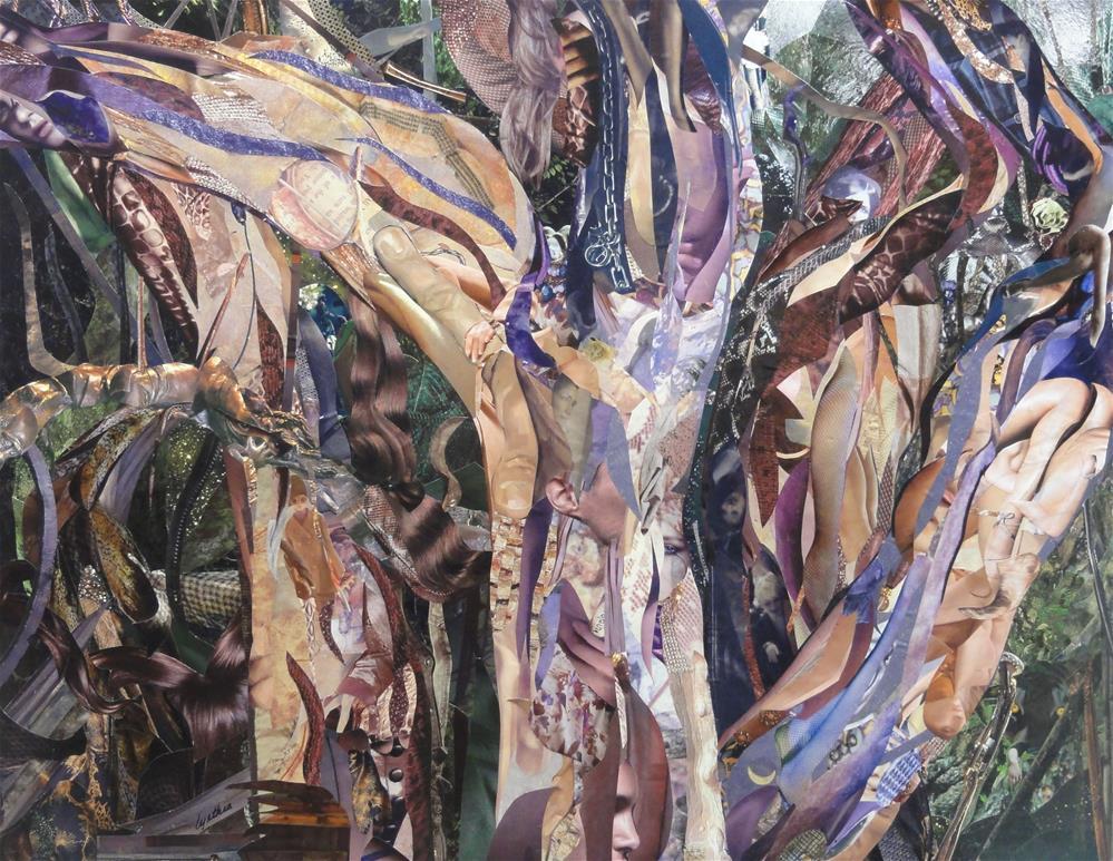 """In the Uncertain Hour (TS Eliot)"" original fine art by Cynthia Frigon"