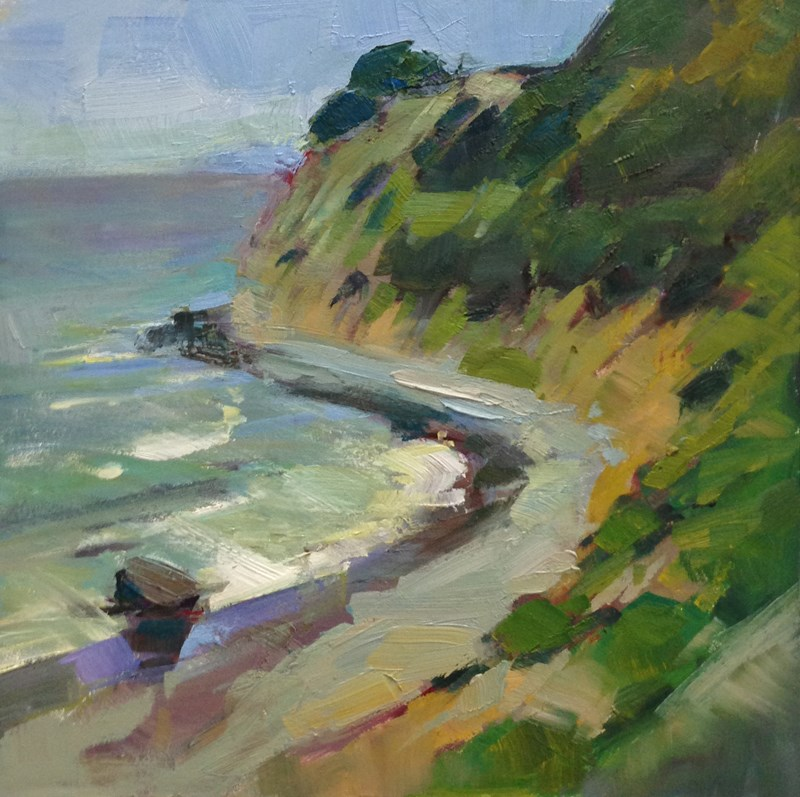 """Oregon Coastal Arc"" original fine art by Patti McNutt"