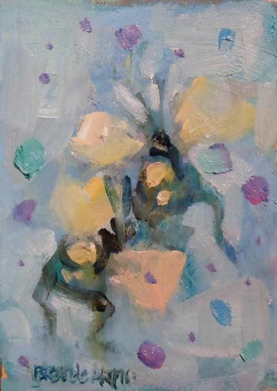"""Jublibees"" original fine art by Brande Arno"