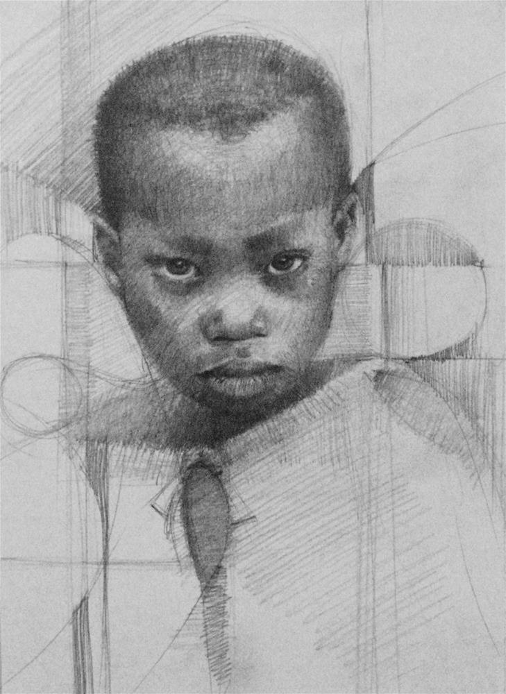 """Desire"" original fine art by Adebanji Alade"