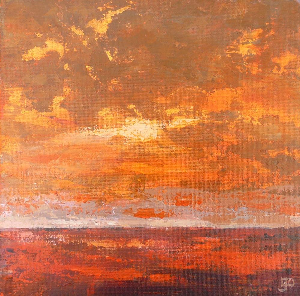 """Desert Heat"" original fine art by Leanne Owen"