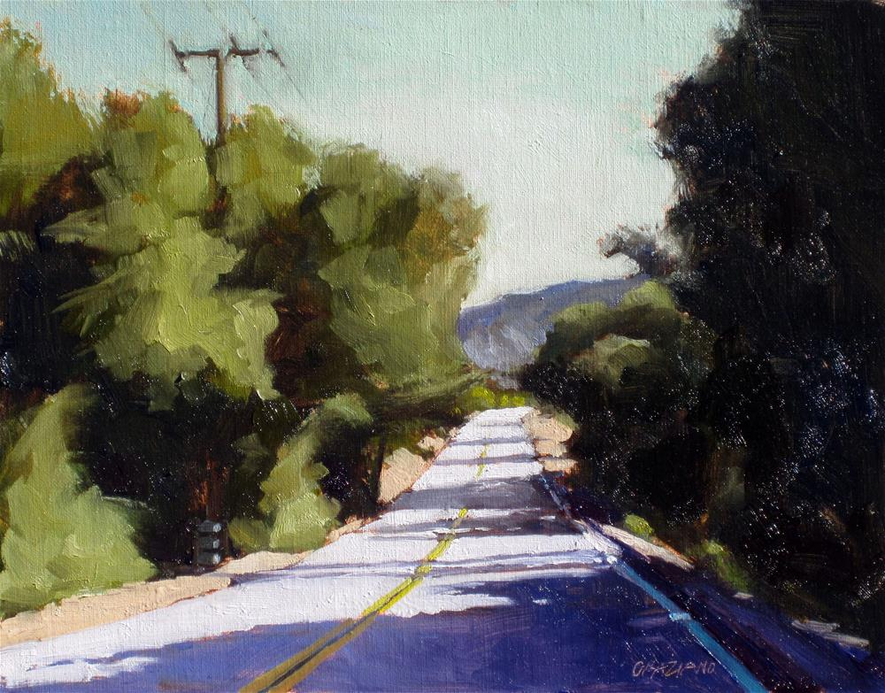 """backroad"" original fine art by Dan Graziano"