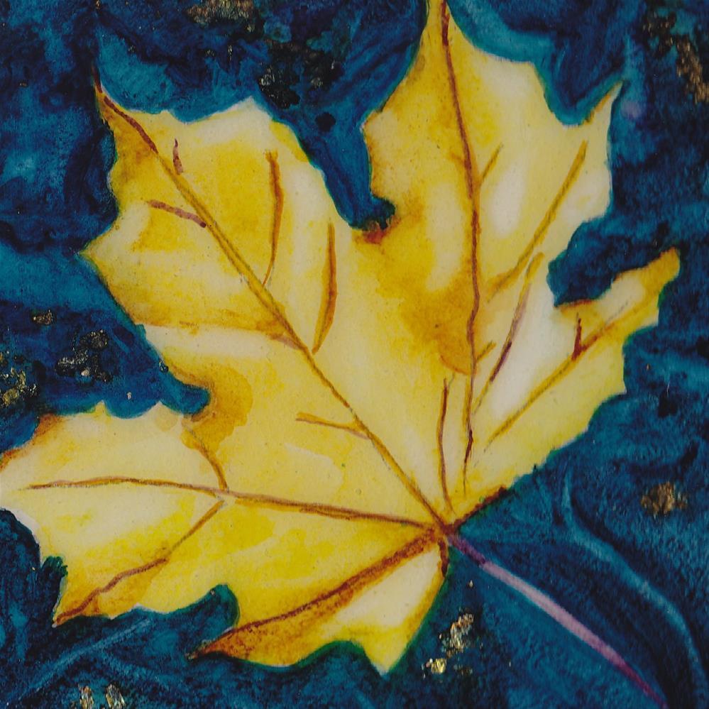 """Autumn Gold"" original fine art by Christiane Kingsley"