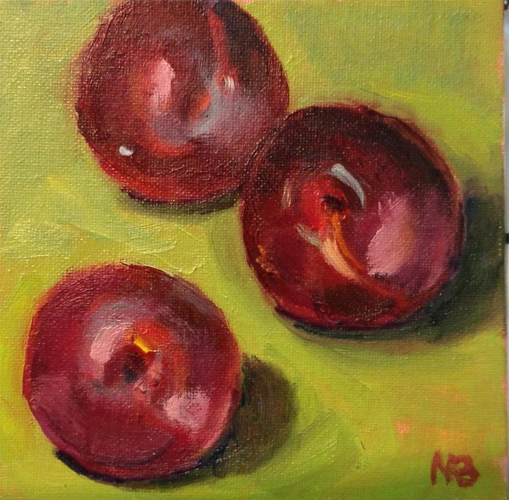 """Juicy Company"" original fine art by Marcia Bergtholdt"
