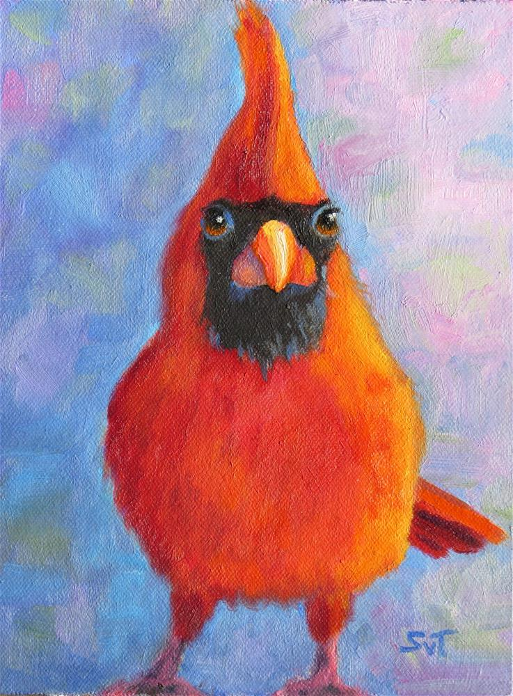 """The cardinal rules"" original fine art by Sue van Tonningen"