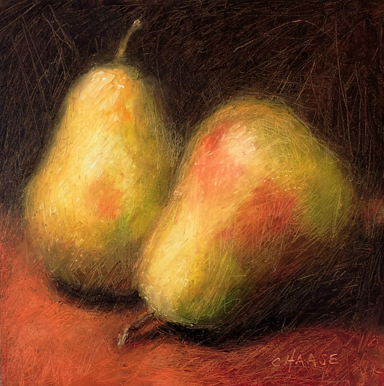 """Memory of Pears"" original fine art by Cindy Haase"