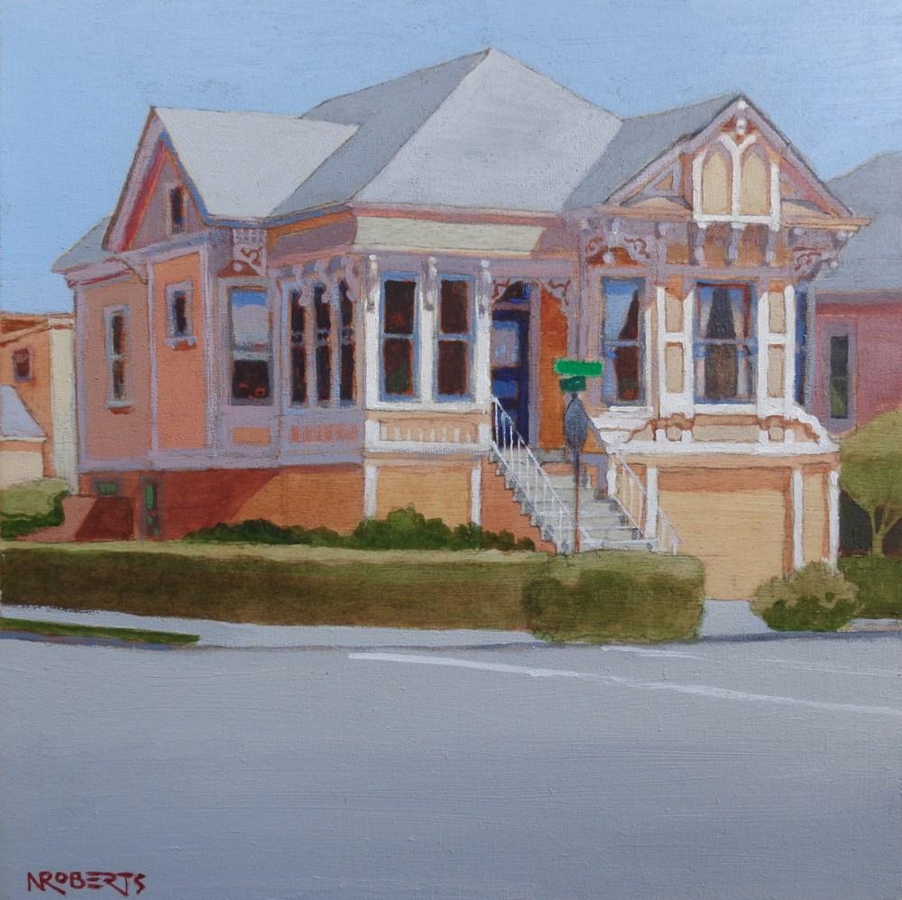 """Alameda Gem"" original fine art by Nancy Roberts"