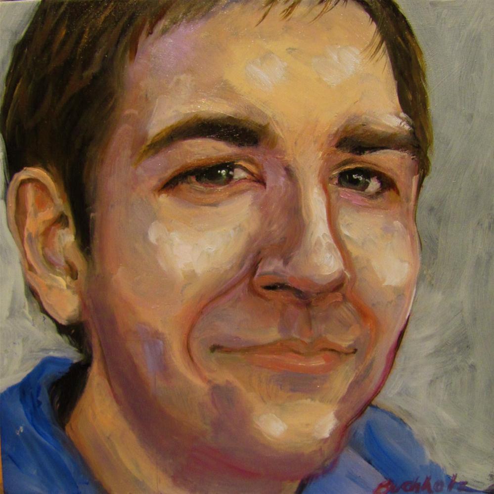 """portrait study"" original fine art by Terri Buchholz"