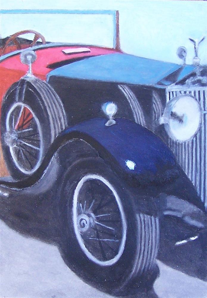 """1927 Rolls Royce Phantom"" original fine art by John Marcum"