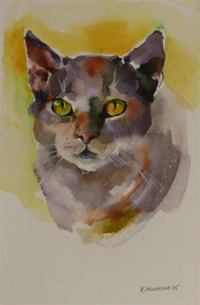 """adopt153"" original fine art by Katya Minkina"