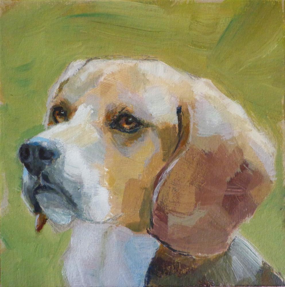 """Beagle"" original fine art by Maria Z."