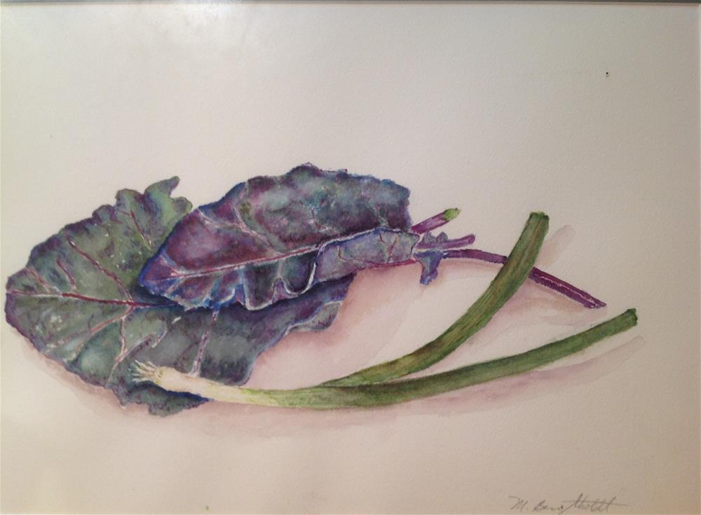 """Fall Chard"" original fine art by Marcia Bergtholdt"