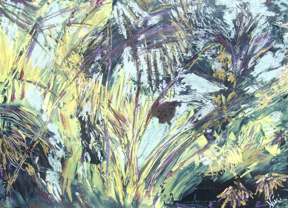 """Dschungel"" original fine art by Niki Hilsabeck"
