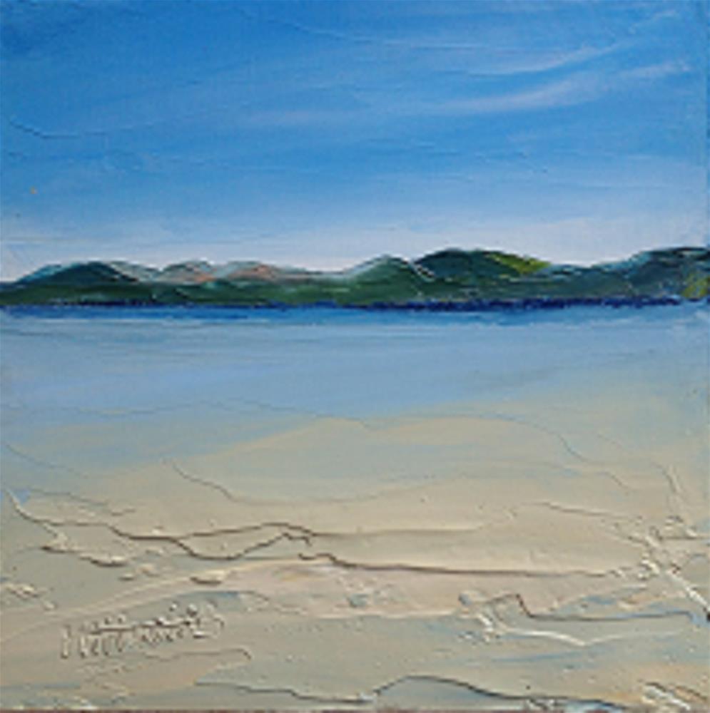 """""""DONEGAL BEACH"""" original fine art by Marie O' Higgins"""