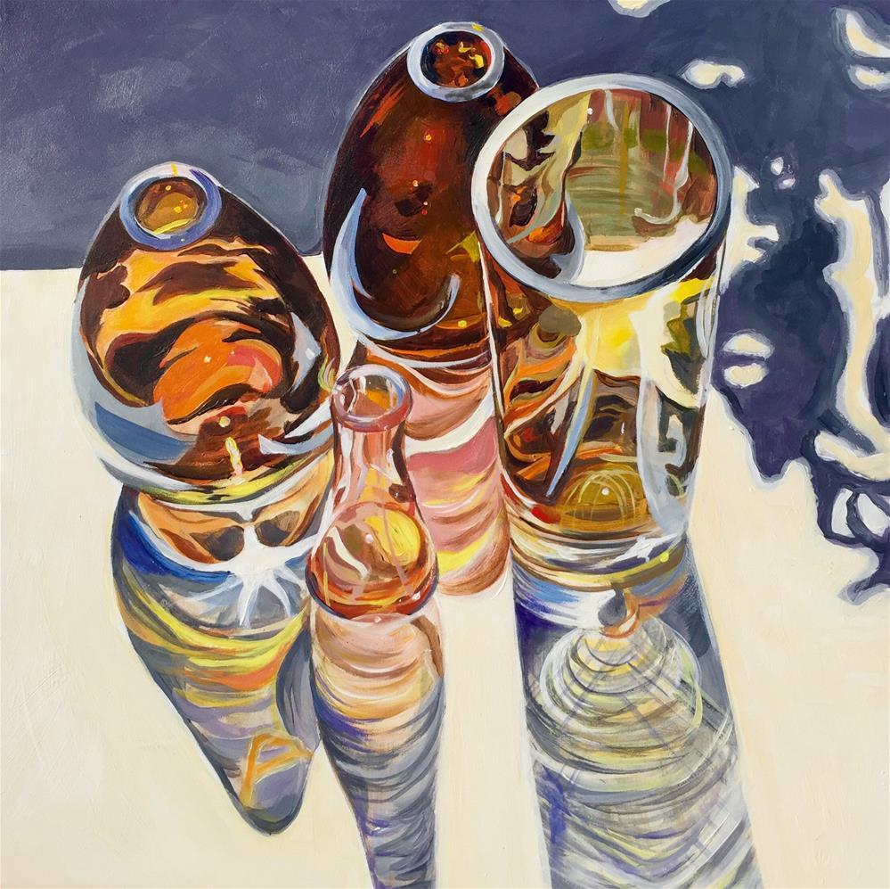 """Light Refraction"" original fine art by Lauren Kuhn"
