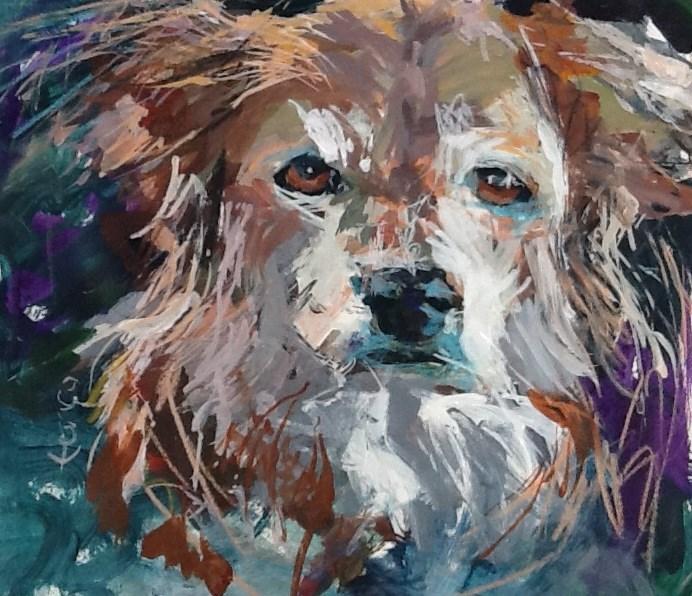 """""""Maggie"""" original fine art by Susan Ferro"""