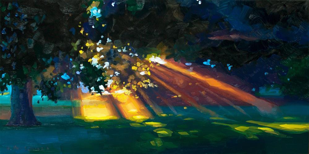 """Breakthrough"" original fine art by Heather Bullach"