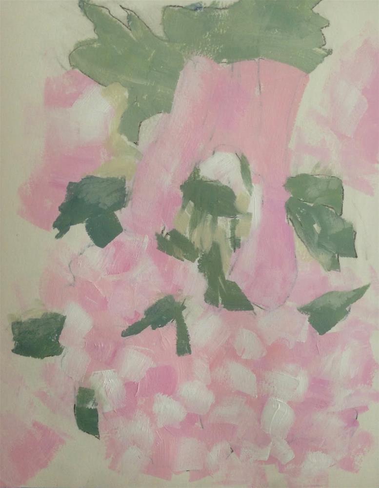 """""""UPDH Gets Restless"""" original fine art by Dotty Seiter"""