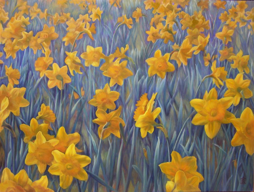 """Spring's Arrival"" original fine art by Melissa  Imossi"