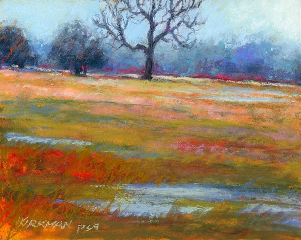 """The Hanging Tree (and the Casey Klahn workshop)"" original fine art by Rita Kirkman"