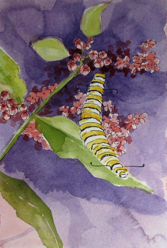"""Monarch #8"" original fine art by Christine Holzschuh"