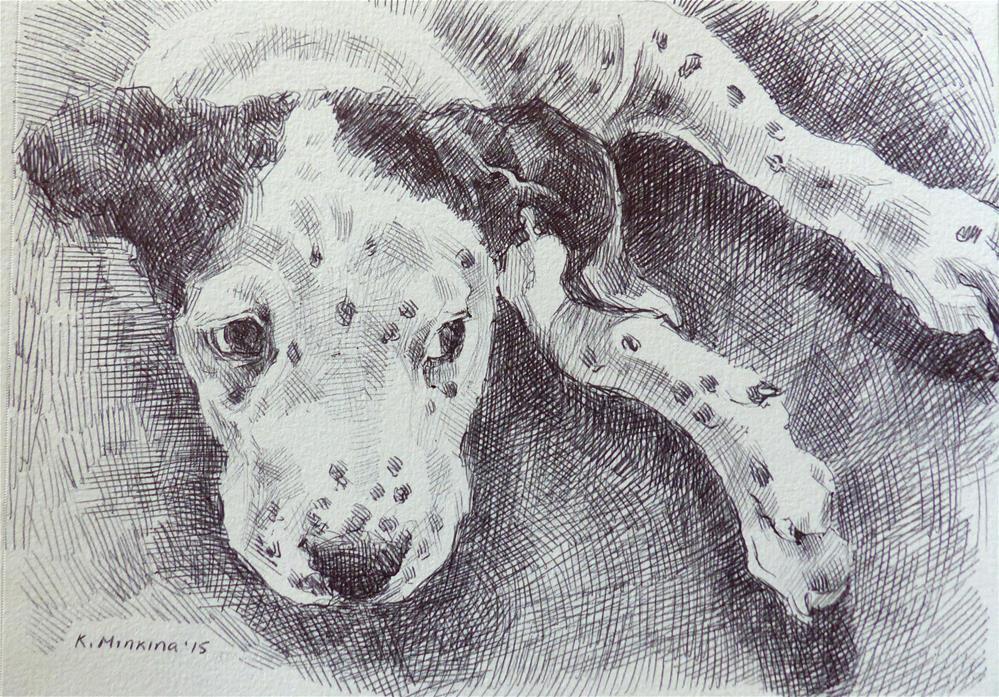 """adopt140"" original fine art by Katya Minkina"
