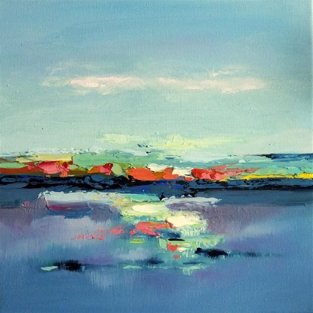 """Landscape 172"" original fine art by Ewa Kunicka"