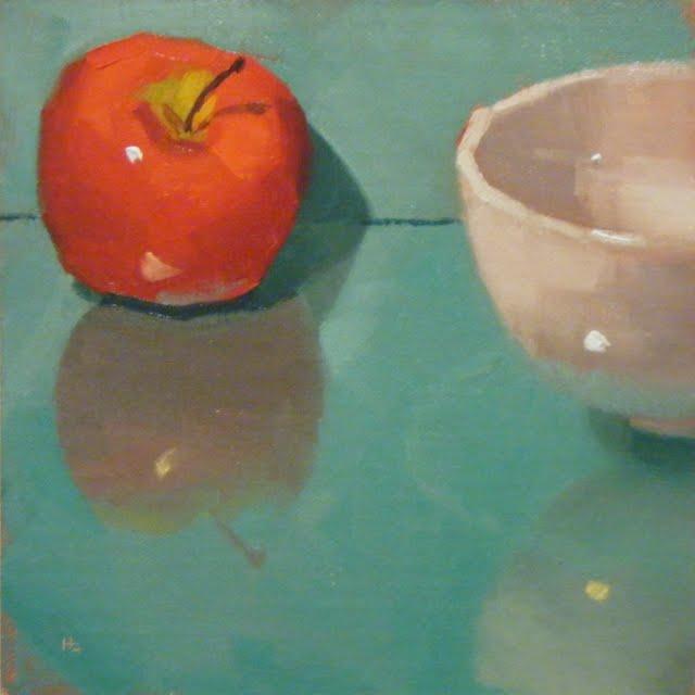 """""""DOUBLE UP"""" original fine art by Helen Cooper"""