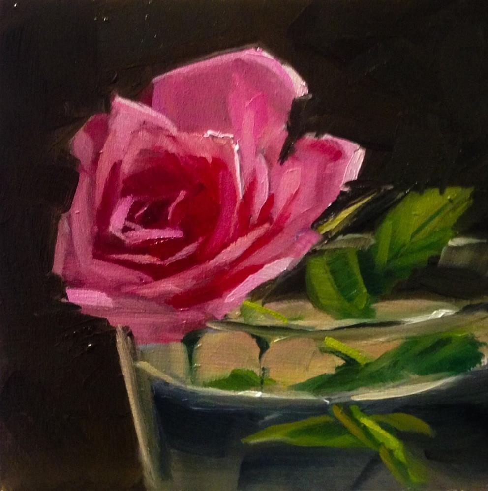 """Rose Bath"" original fine art by Thomas Ruckstuhl"