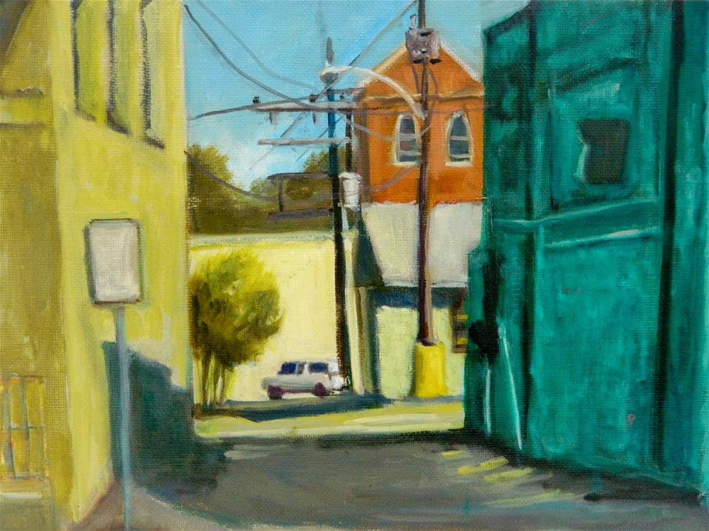 """Arcadia Alley"" original fine art by Sharon Yarbrough"