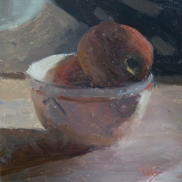"""Them Apples"" original fine art by Randall Cogburn"