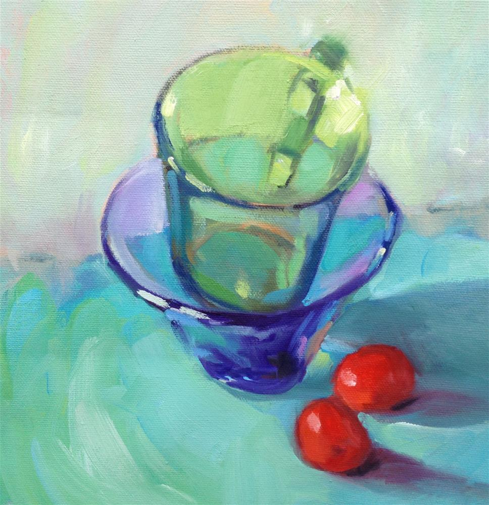 """Transparent"" original fine art by Jane Robertson"