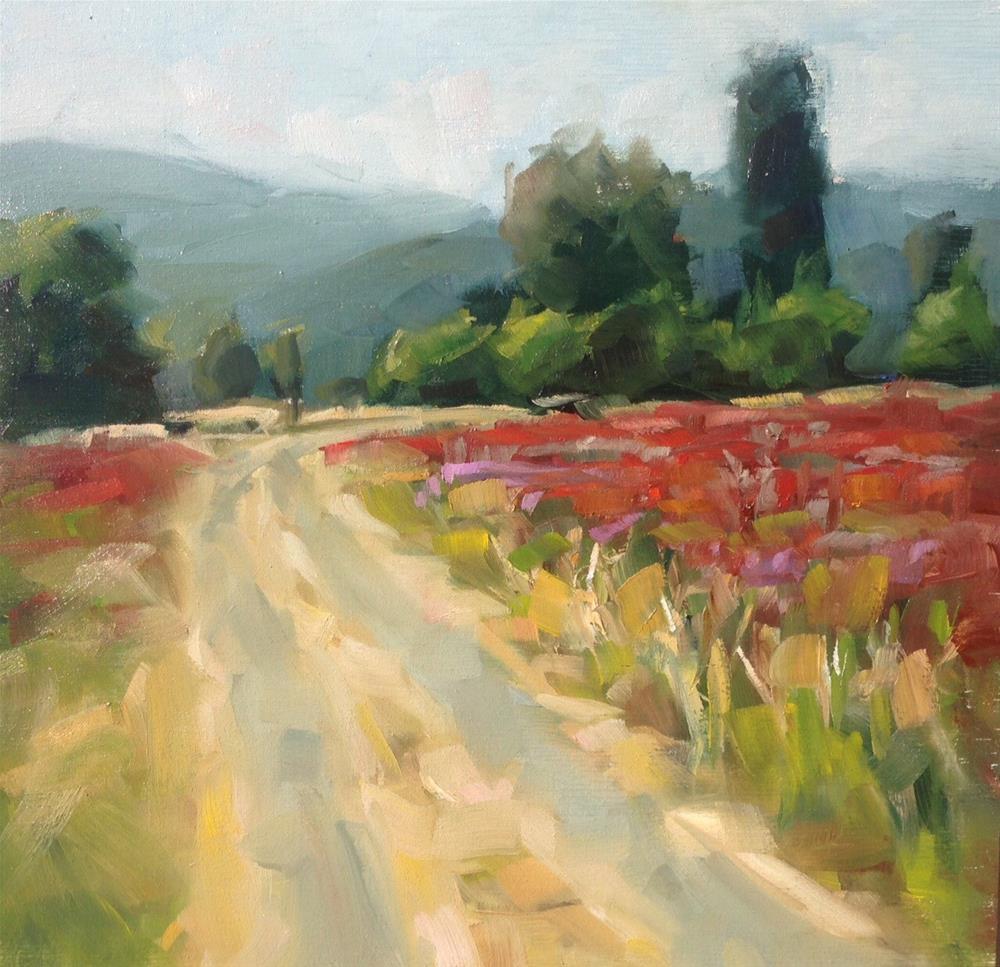 """Fields of Temptation"" original fine art by Thomas Ruckstuhl"