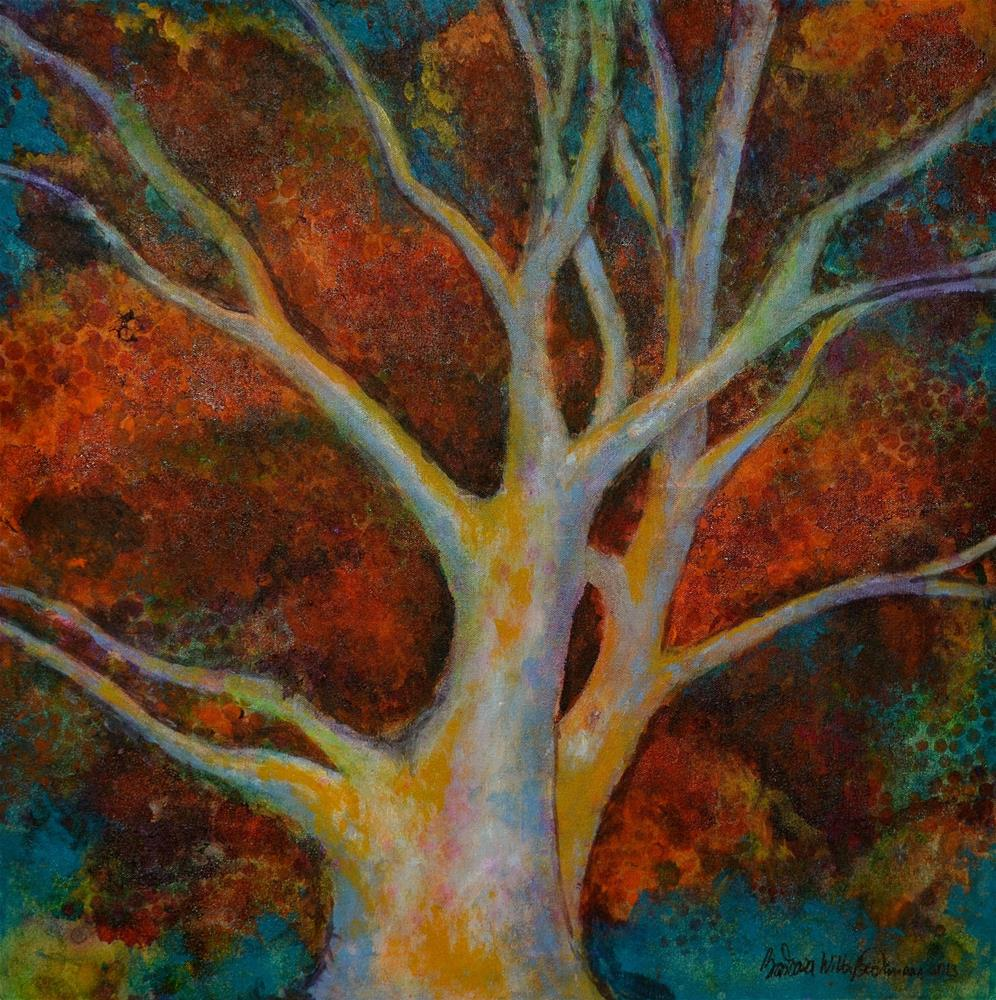 """The Bronze Tree"" original fine art by Barbara Beckmann"