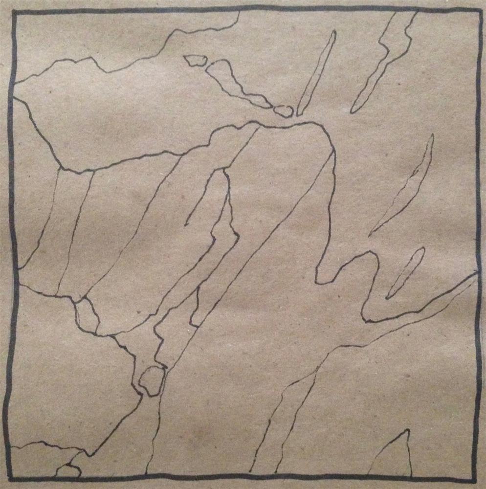 """""""Poetry"""" original fine art by Dotty Seiter"""