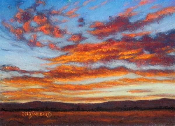 """""""Fiesta"""" original fine art by Carol Zirkle"""
