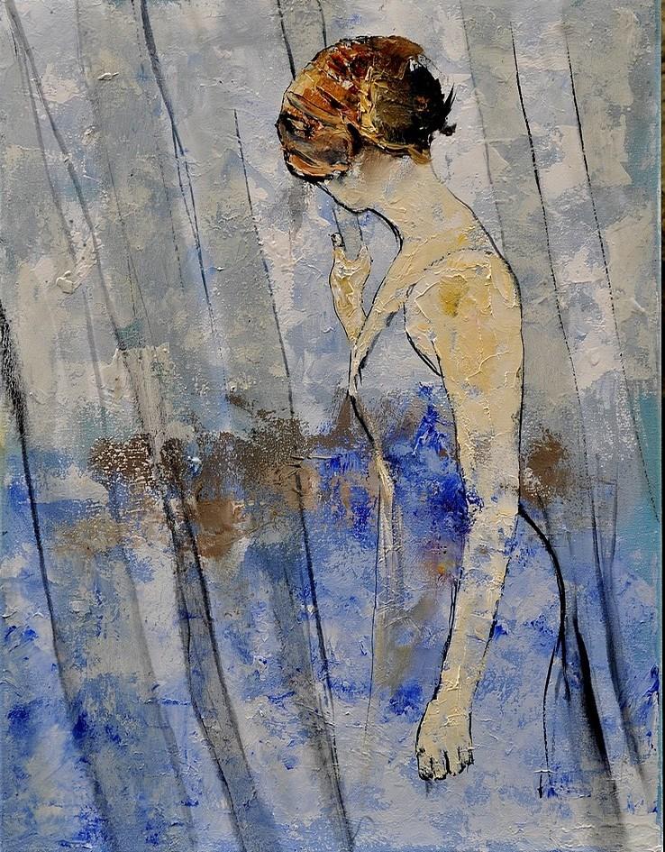 """""""impatience"""" original fine art by Pol Ledent"""