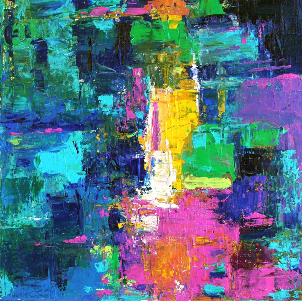 """Pura"" original fine art by Elizabeth Chapman"