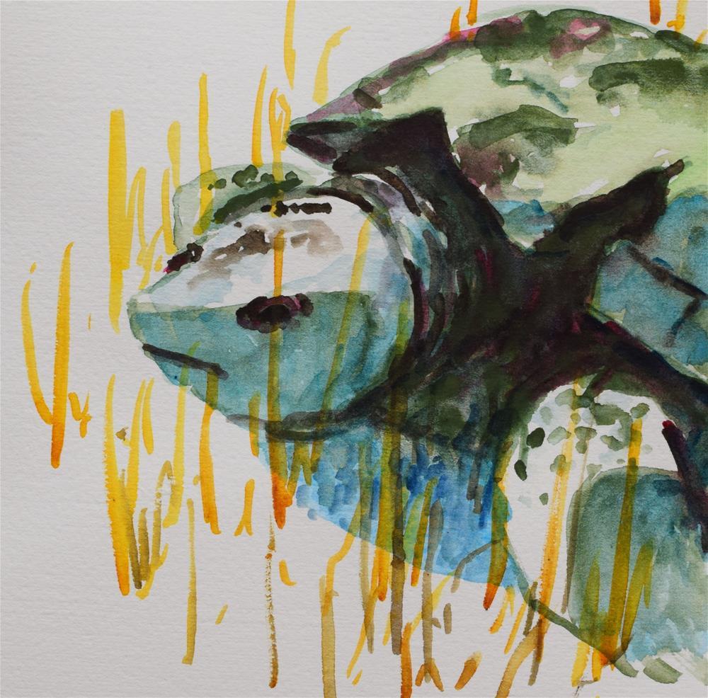 """Living History"" original fine art by Nancy Brown"